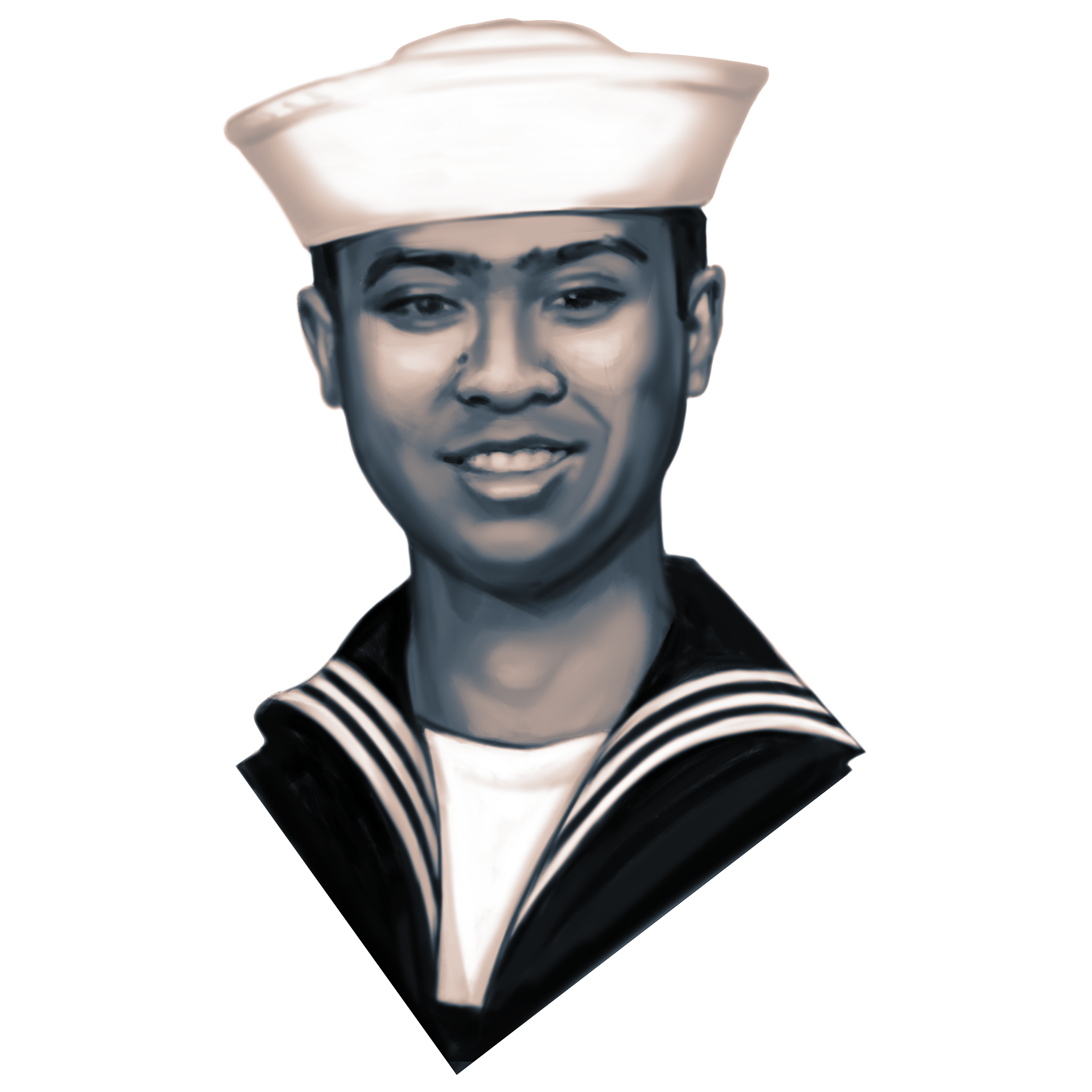 Petty Officer  Second Class Carlos Victor Ganzon Sibayan, 23